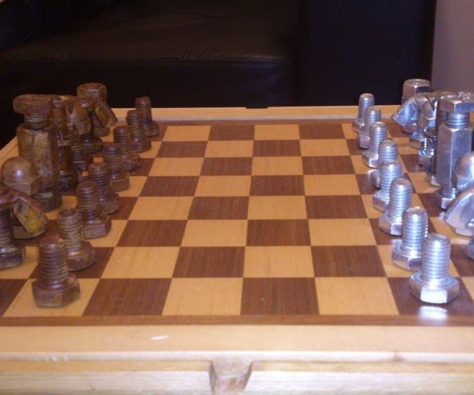 Cheap Steampunk Chess Set