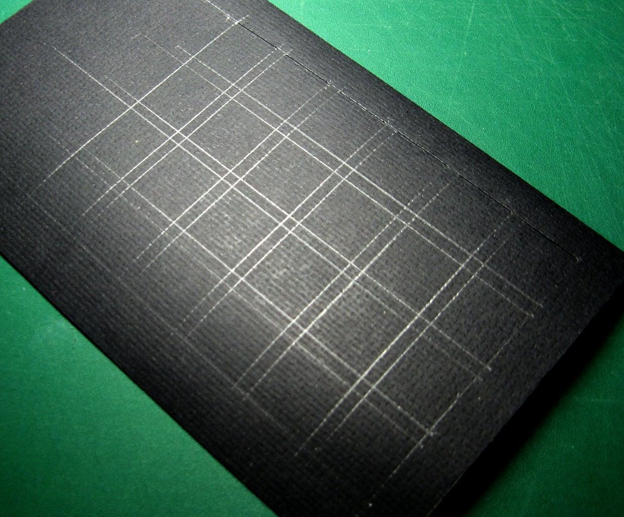 Mark Your Black Cardboard