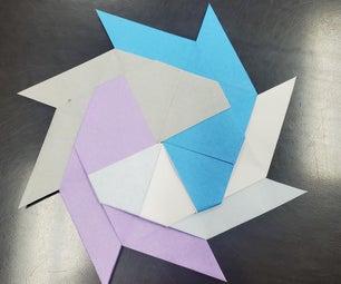 纸制忍者星