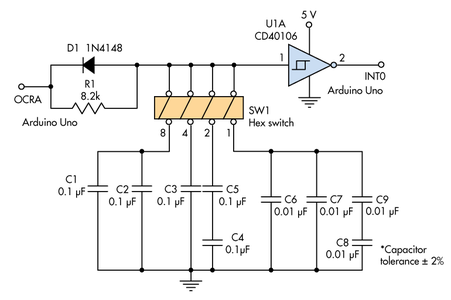Arduino Pin Constraints and Connecting the Thumb-Wheel Switches