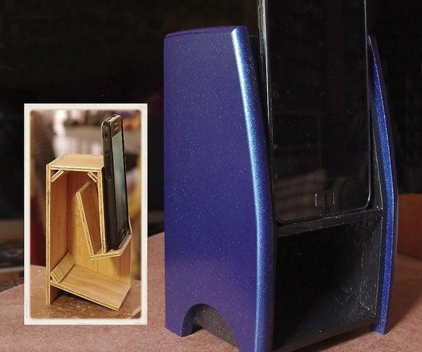Folded Horn Passive Phone Speaker