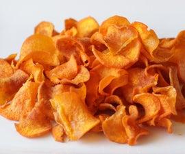 薄脆红薯片