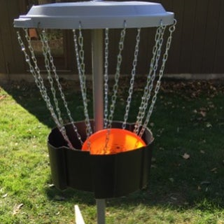 A Great Build-at-home Disc Golf Target (or a Better Use for 55-gal Drums!)