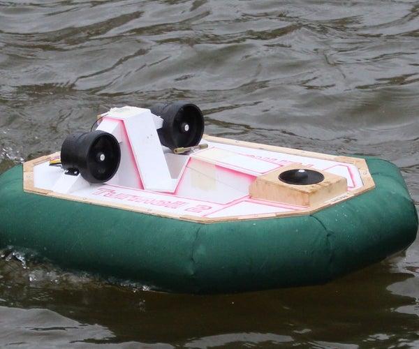 Radio Controlled Electric Hovercraft