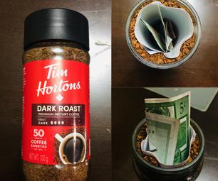 珍贵的咖啡罐