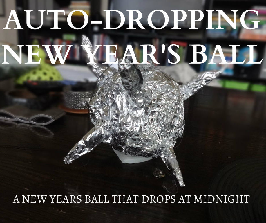 A Spark Core New Years Ball That Drops In Your Home!