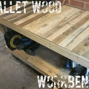 Pallet Wood Workbench.