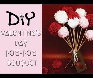 DIY Pom-pom Bouquet