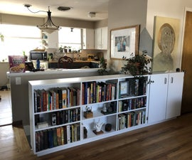 Bookcase Banister