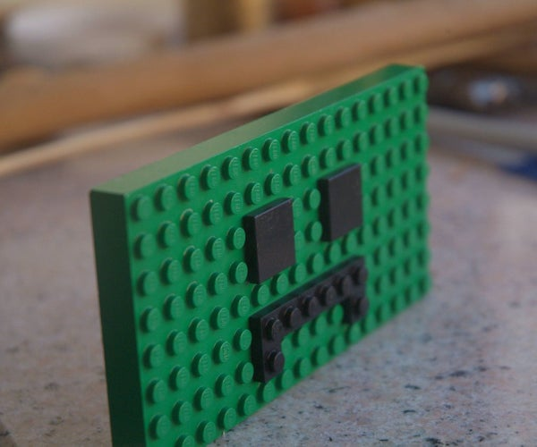 LEGO Creeper Face!
