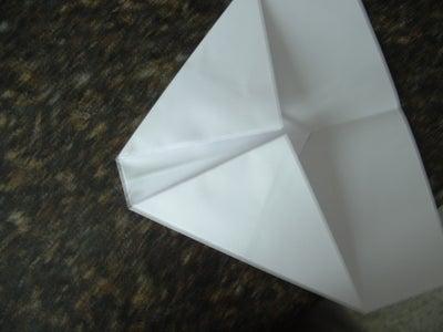 Fold Part of the Arrow Down Again