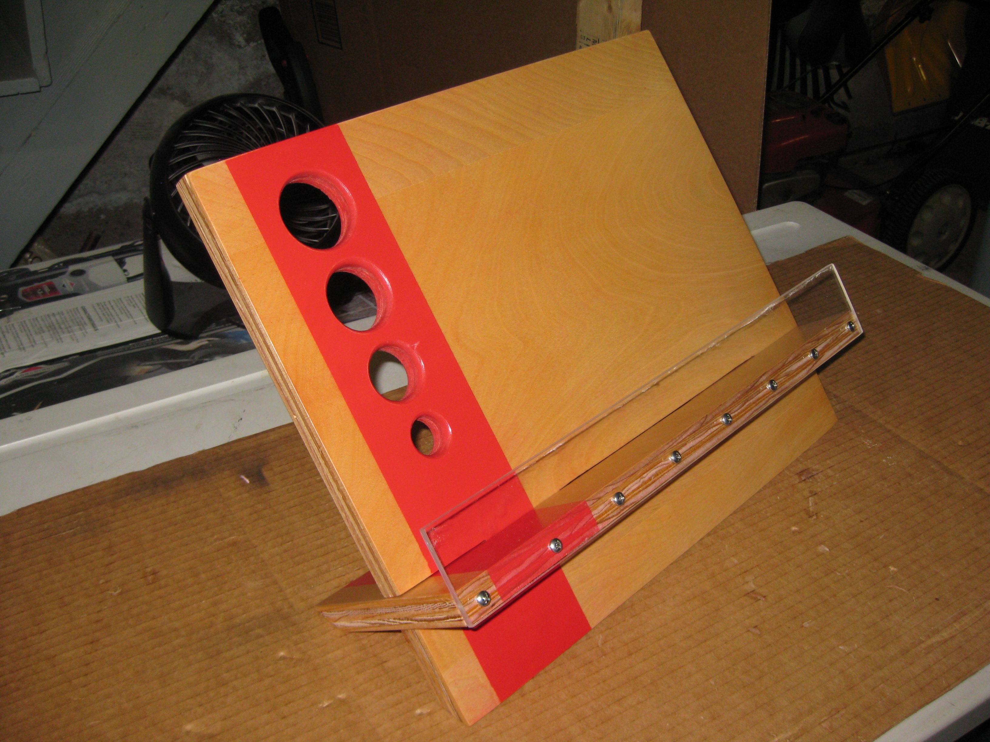 The Flat Stacking Cookbook Stand