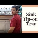 Sink Tip Out Tray Installation