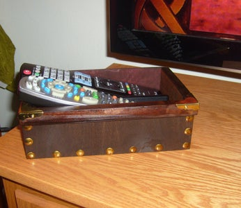 Steampunk Cable Box & Caddy