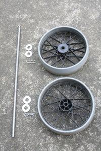 Step 3: Wheels & Axle.