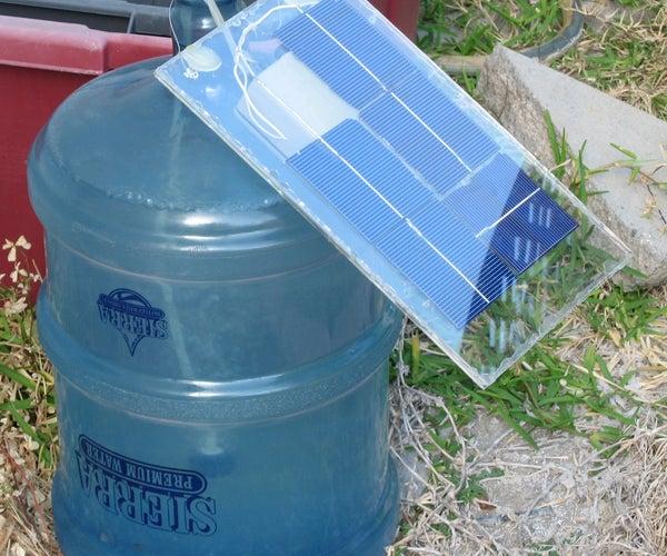 Solar-powered Algae Bioreactor