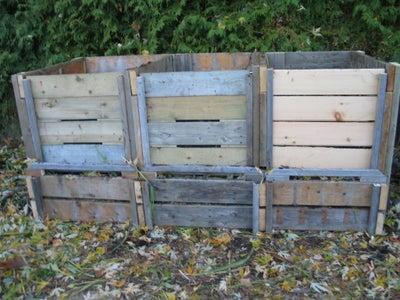 Triple Compost Bin