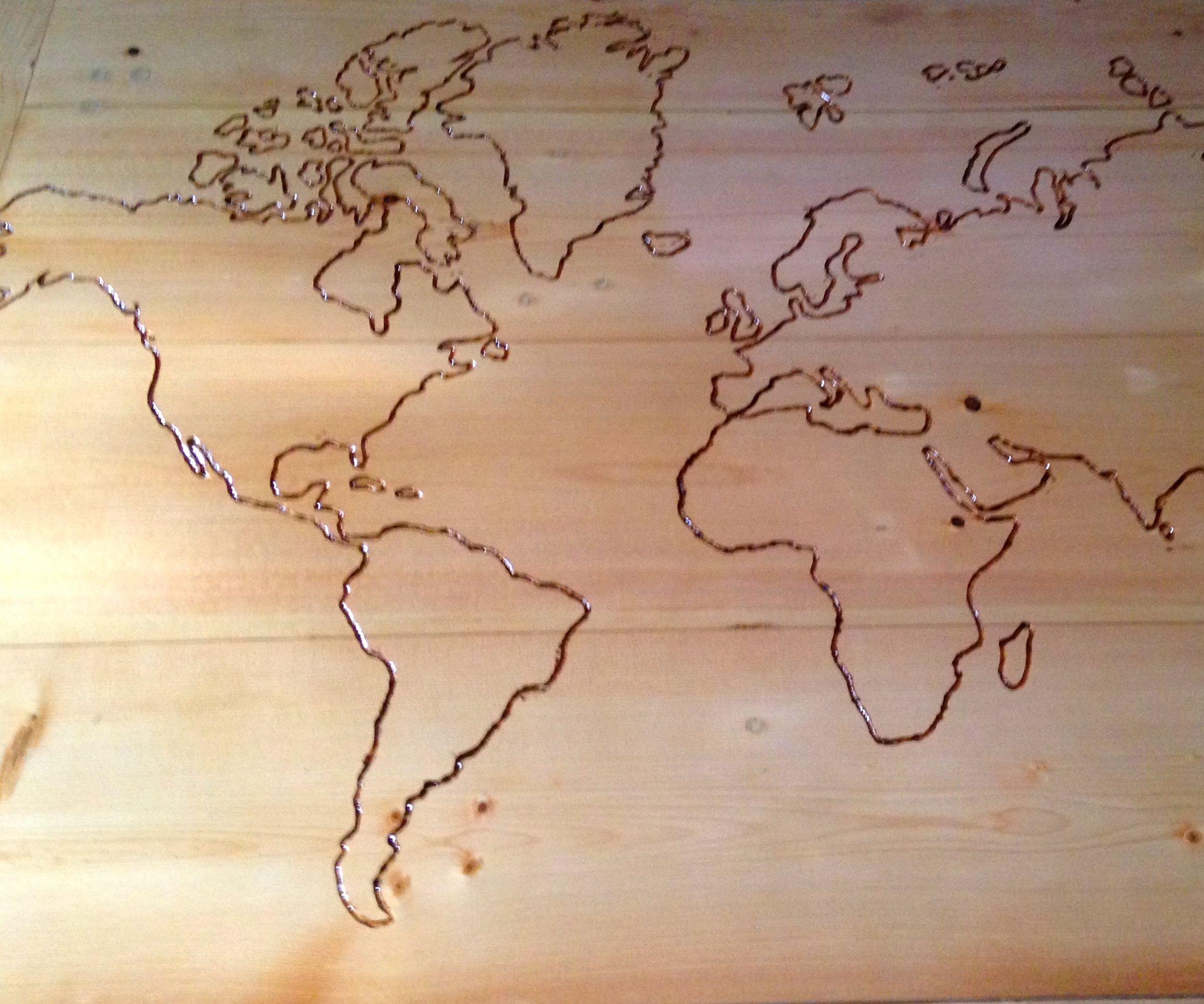 Coffee Around the World-Create Your Own Custom Coffee Table