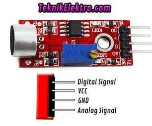 MIC Modul Sensor Suara