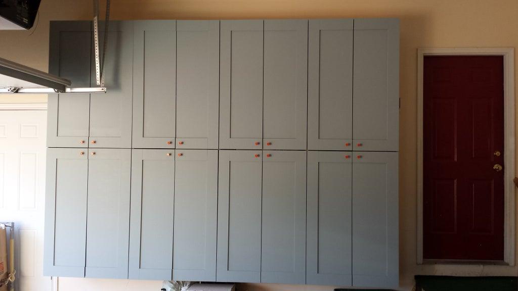 Making Garage Storage Cabinets I 10, Built In Storage Cabinets For Garage Door