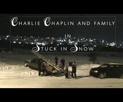 Charlie Chaplin Style Short Film  (caught With My Security Camera)