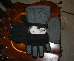 Remote Control IPod Gloves