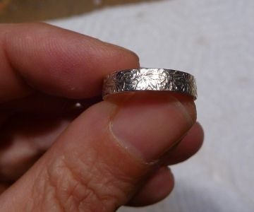 Wedding Rings From Old Swiss Francs