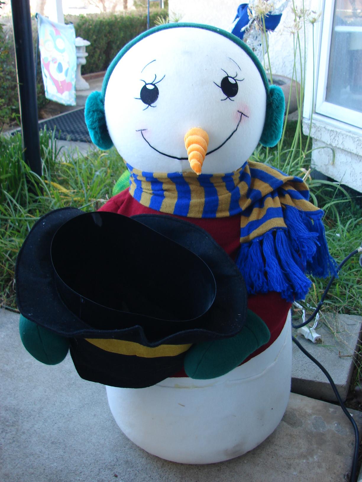 Fixing The Snowman Evaporative Snow Machine