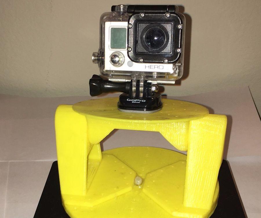 Rotating GoPro Panorama Mount