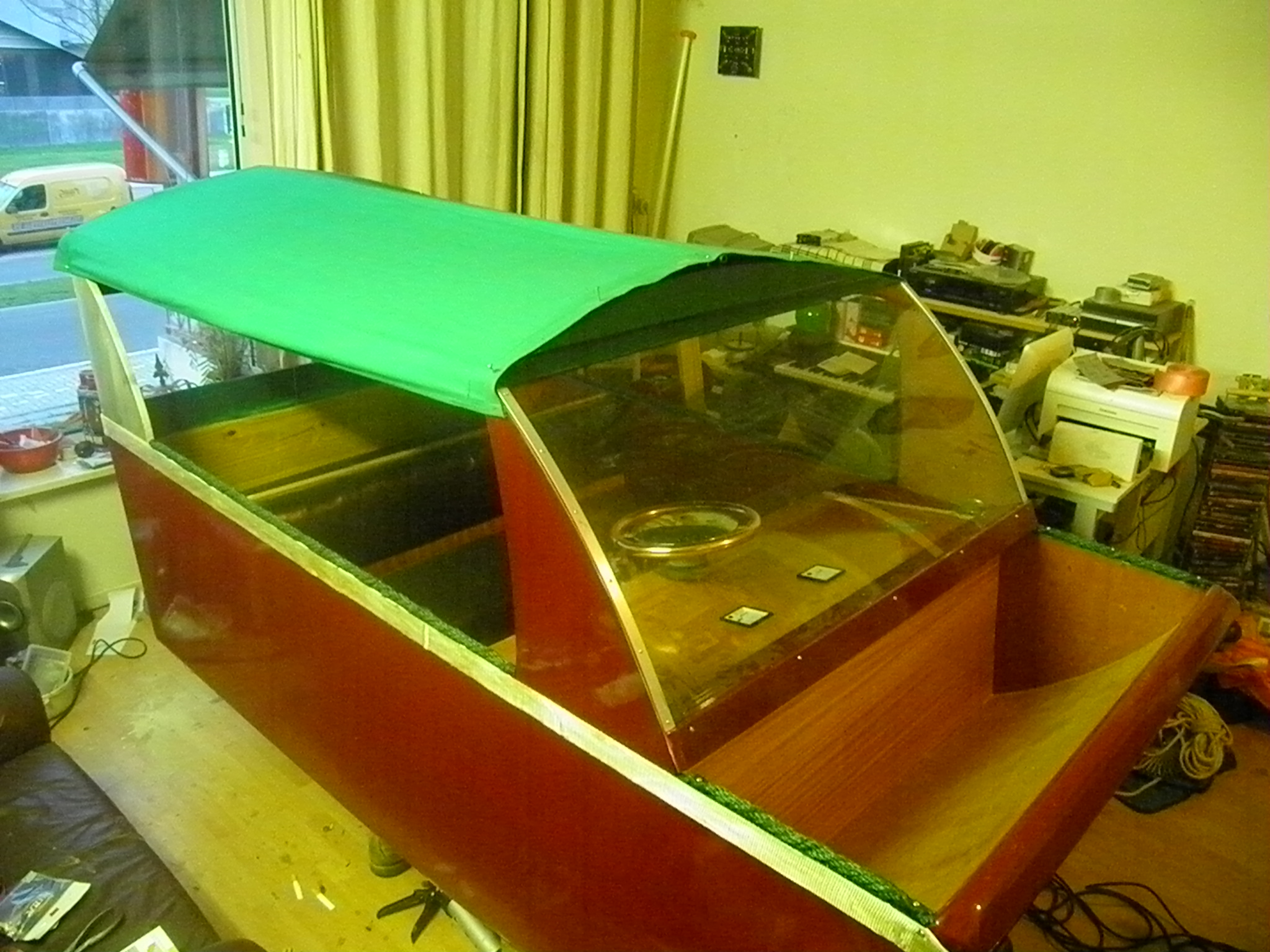 Building a boat for mij little son
