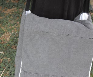 Man Bag (Murse) Made From Old Pants!