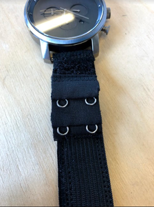 Sew the Hooks Onto the Watch Band