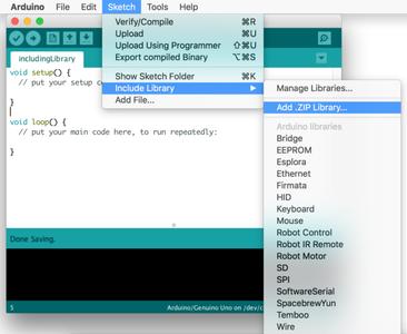 Añadir Librería Del RobotKit Al Arduino