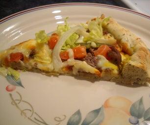 Bachelor's Burger Pizza
