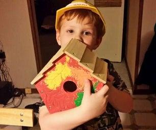 Build and Paint a Birdhouse