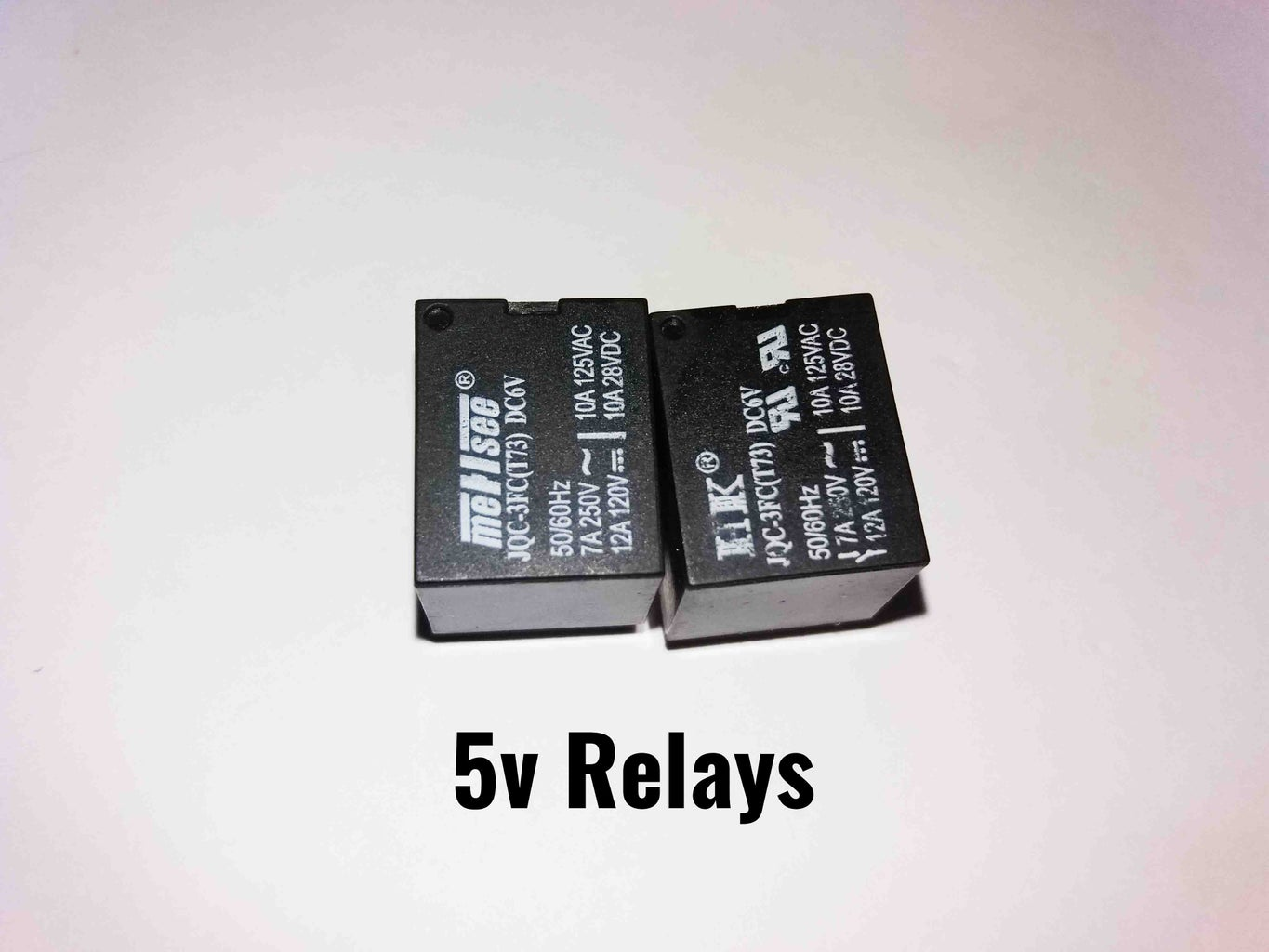 Components for Relay Board
