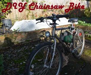DIY Chainsaw-bike
