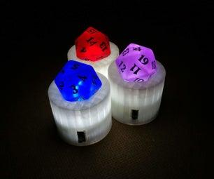 Light-up Dice Holder