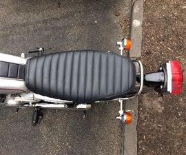 Vintage Motorcycle Seat Restoration - CB200