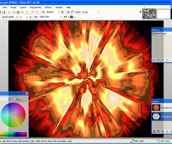 How to Make a Cool Explosion on Paint.NET