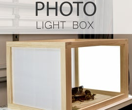 How to Build a PHOTO LIGHT BOX