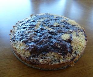 Chocolate Vanilla Swirl Cake