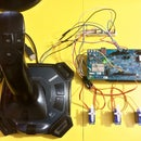 JOYSTICK CONTROLLED SERVO MOTORS