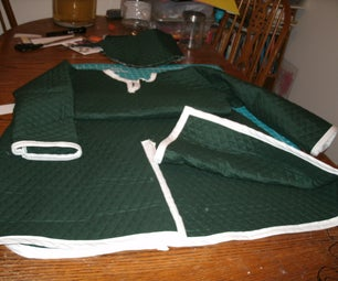 How to make an 11 Cent. Padded Gambeson