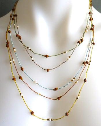 Sandcastle Necklace