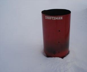Indestructible Burn Barrel