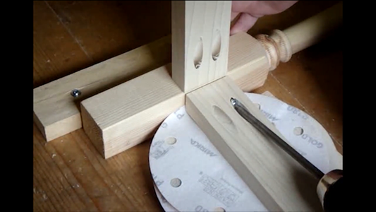 Pocket Holes and Stair Spindle Legs