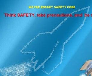 Water Rocket Safety Code