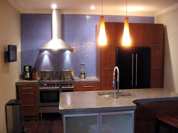 Concrete Countertops for the Kitchen - a Solid Surface on the Cheap