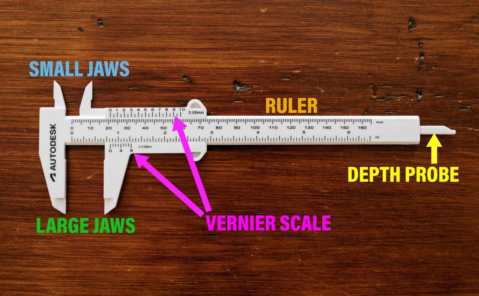 The Parts of a Caliper